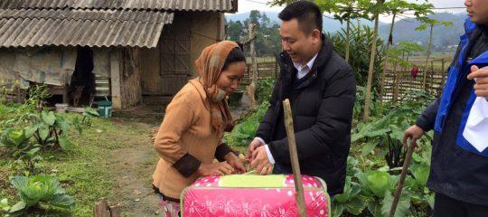 Chuyến thiện nguyện đầy ý nghĩa của Vietblend tại xã Xuân Đài, huyện Tân Sơn, tỉnh Phú Thọ
