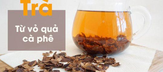 Cascara – Trà từ vỏ quả cà phê