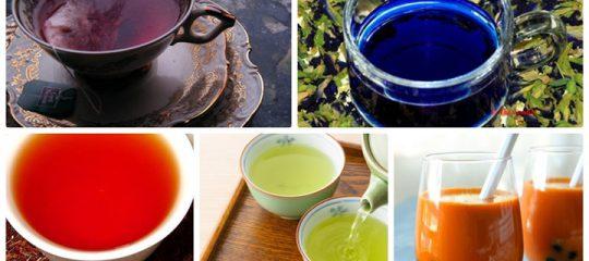 Điểm danh những loại trà đặc biệt trên giới