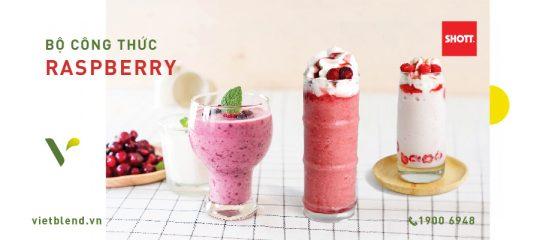 Bộ Sưu Tập Đồ Uống Từ SHOTT Raspberry Hot Trend 2019