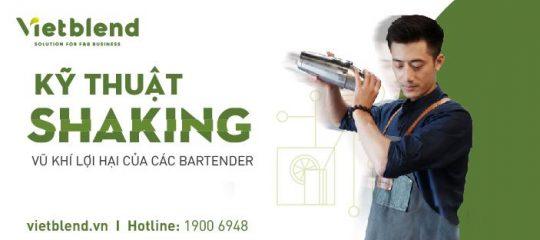 """Kỹ thuật Shaking – """"Vũ khí"""" lợi hại của các Bartender"""