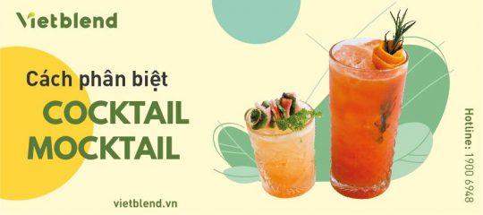 Cách phân biệt Cocktail và Mocktail