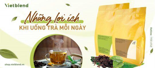 Những lợi ích khi uống trà mỗi ngày