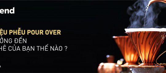 Chất liệu của phễu Pour Over có ảnh hưởng đến cà phê của bạn?