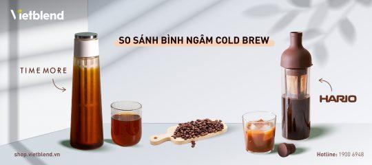 Bình ngâm Cold Brew Timemore và Hario – Đâu mới là lựa chọn thông minh?